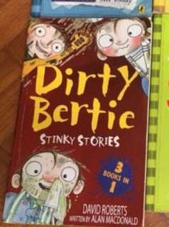 Dirty Bertie story book