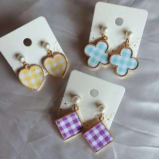Korean Earrings RM15-25