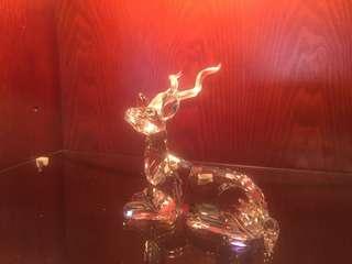 Swarovski Crystal Deer