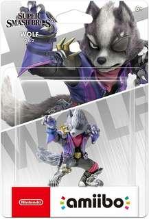 Super Smash Bros Wolf Amiibo