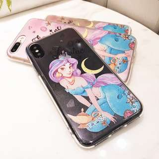 Disney princess jasmine iPhone 7 8 X case