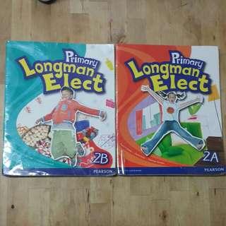 Primary Longman Elect (2009 ed) 2年級,2A, 2B, $5每本