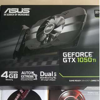 Asus Phoenix GTX 1050 Ti
