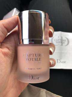 Dior capture totale foundation serum