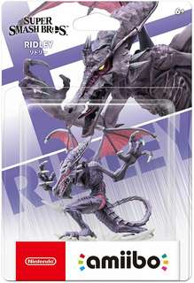 Super Smash Bros Ridley Amiibo