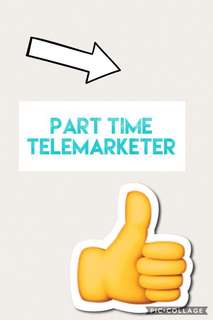 Telemarketer needed in Toa payoh
