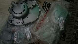 125z engine casing Left and right and 2t pump cover 1set