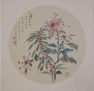 花卉图 苏州画家