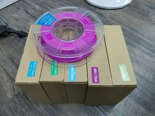 3d filament 1.75mm  several colors 11rolls