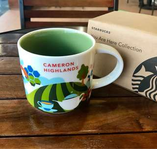 Starbucks Malaysia You Are Here Mug - Cameron Highlands