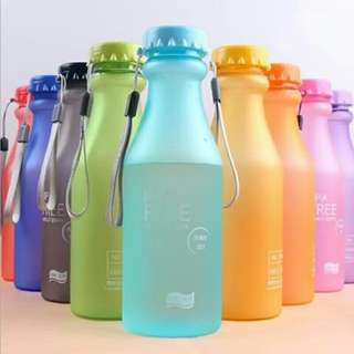 550ML plastic bottles