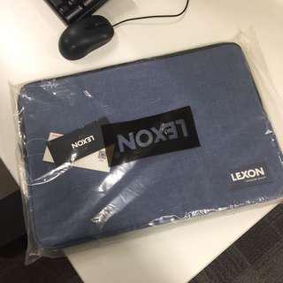 🈹法國樂上(LEXON) 電腦內膽包 15吋 Ipad 保護套減震配件包 電腦袋 LNE6005 藍色