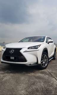 Lexus Wedding Car Rental With Auspicious Plate Number