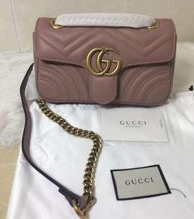 Gucci Marmont Matelasse Shoulder Bag