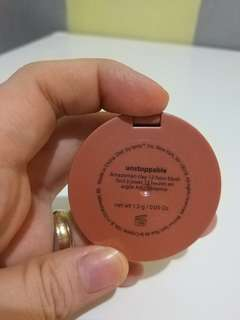 Tarte deluxe size blush in Unstoppable