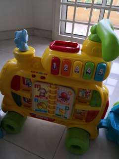 Preloved V Tech baby toy {From Stand to Sit}!!!