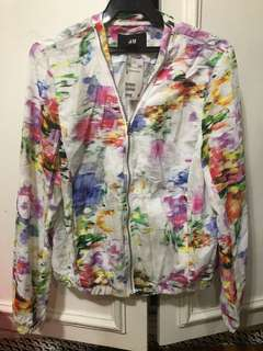 Hm bomber jacket size 12 new with tag