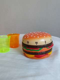 Burger timer for the chef