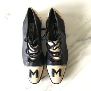 Vintage Moschino Lace Shoes