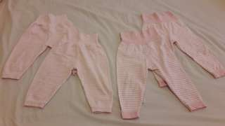 80cm High Waist Baby Sleep Pants (4pcs)
