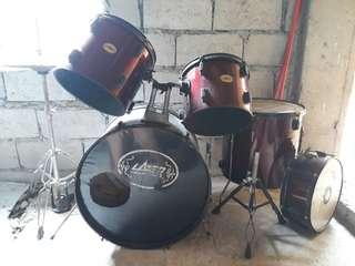 Lazer Musical Instrument Drumset