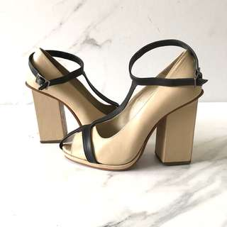 Rachel Comey Nude Stacked Heels