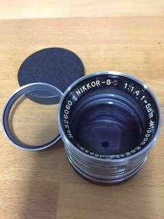 Nikkor S.C 5cm F1.4