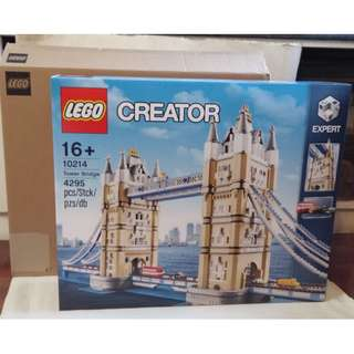 全新靚盒 LEGO Creator 10214 Expert London Tower Bridge 倫敦塔橋