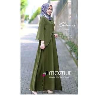 Rx. Carinr Dress Evergreen