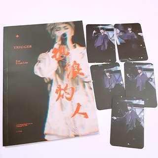Nine Percent LinYanJun photobook photocard 目下赏味pb 小卡 林彦俊 小橘
