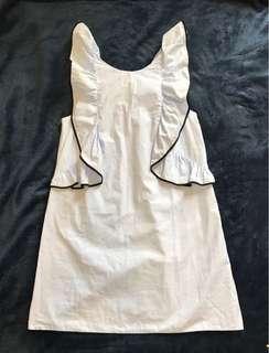 Zara  荷葉洋裝