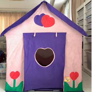 Bazoongi Dollhouse Play Tent