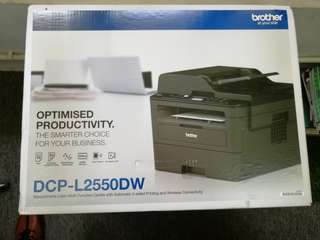 Brother Laser Printer DCPL2550DW