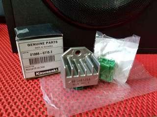★KRR150/ZX150/RR150 ★💯Original Rectifier + Socket Set