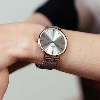 CLUSE LA BOHÈME MESH GOLD/SILVER  荷蘭錶金屬錶帶 38 mm 預購