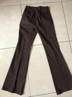 🚚 復古直筒褲