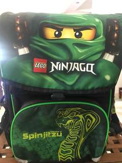 Preloved LEGO Ninjago school bag