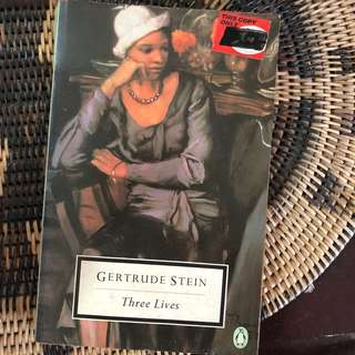 Three Lives By Gertrude Stein