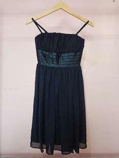 mini dress navi blue