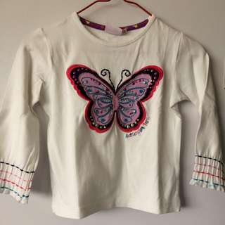 BUTTERFLY LONGSLEEVES TOP
