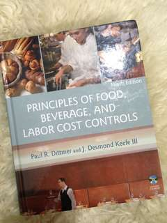 Principles of food, beverage and labor cost control