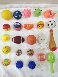 🚚 玩具球
