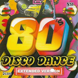 80's Disco Dance Extended Version 2CD New