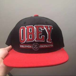 REPRICED Authentic Obey cap
