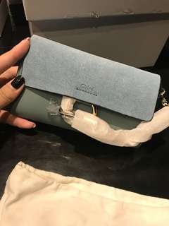 Chloe mini bag with receipt