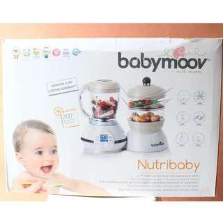 Babymoov Nutribaby (Steam Botol ASI, Food Processor, dll)