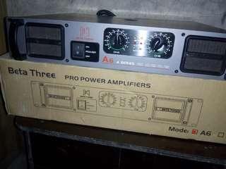 Beta three power amplifier