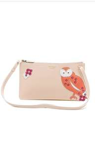 BNIB Salvatore Ferragamo mini bag -colourful owl design