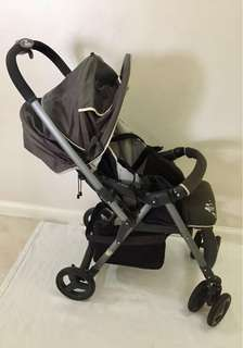 Combi multiway 3-stepstroller in gray