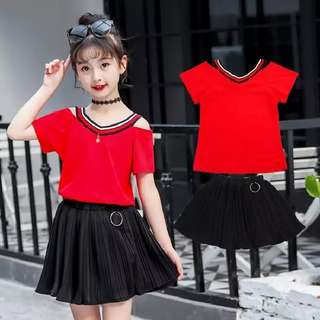 Kids girl 2 pieces korean style set size 160